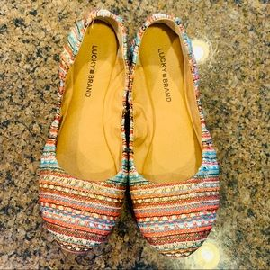 Lucky Flats Size 10 Gorgeously Adorned Cuties